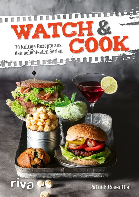"""Cover des Kochbuches """"Watch and Cook"""""""
